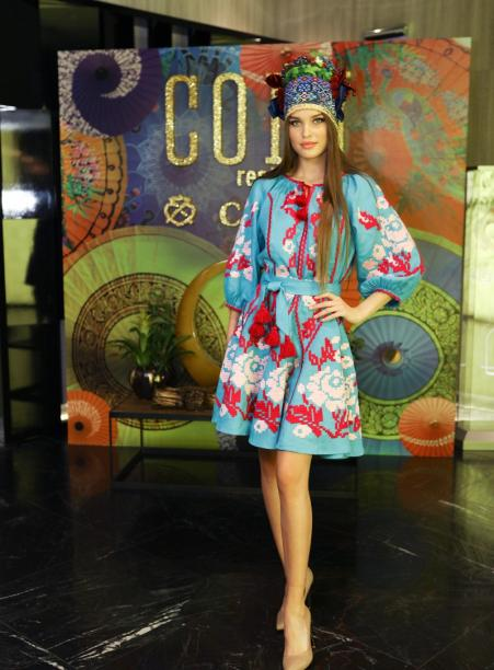 In Kiev, presented outfits for the Ukrainian participant