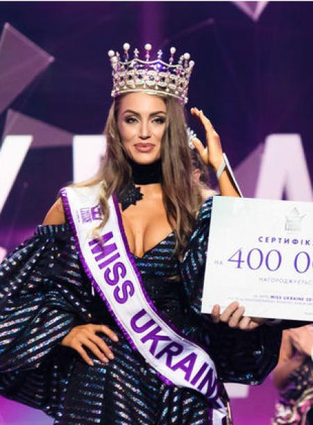 Miss Ukraine 2019 embroiders icons and speaks about natural beauty