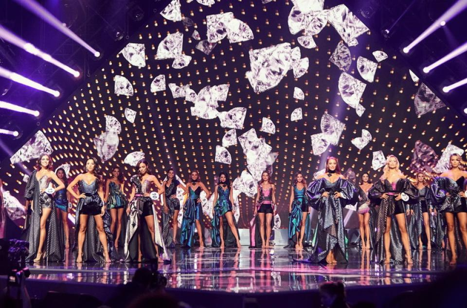 The final show of the Miss Ukraine 2019 contest