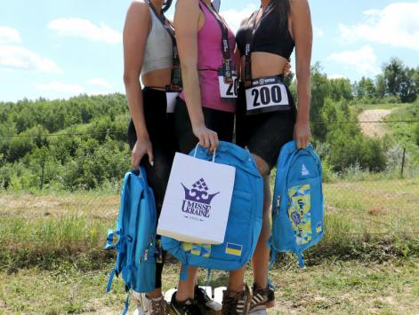 Race of Beauty - extreme run for the candidates of Miss Ukraine 2019 contest