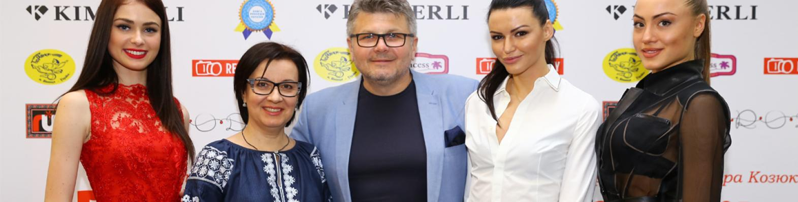 Miss Ukraine | Charity auction during the opening of the exhibition of Vladimir Kozyukov M17
