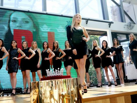 Presentation of the candidates of Miss Ukraine 2019 contest
