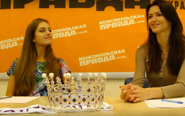 Press Conference of the Miss Ukraine-2016 for KP Ukraine: Part 1
