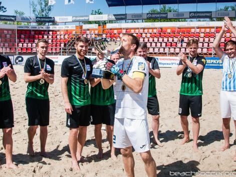 Beach Football Championship finals within the Champions League final in 2018 | Miss Ukraine