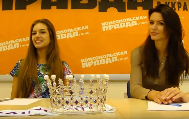 Press Conference of the Miss Ukraine-2016 for KP Ukraine: Part 2