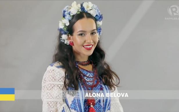 Алена Белова в финале Miss Earth 2016